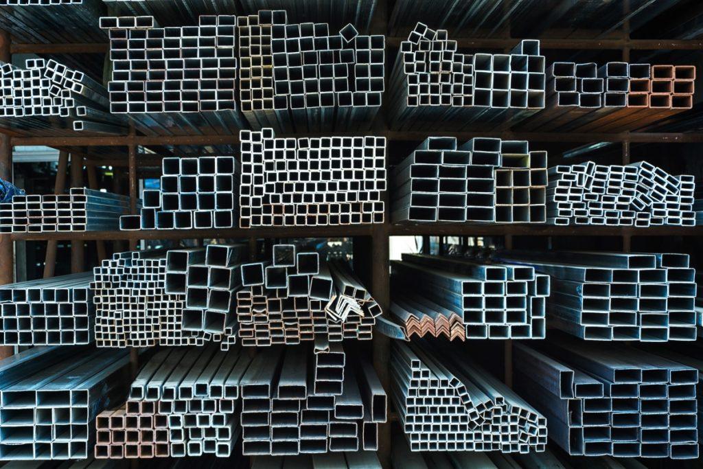 เหล็ก 5 ประเภทที่นิยมนำมาใช้ในงานก่อสร้าง